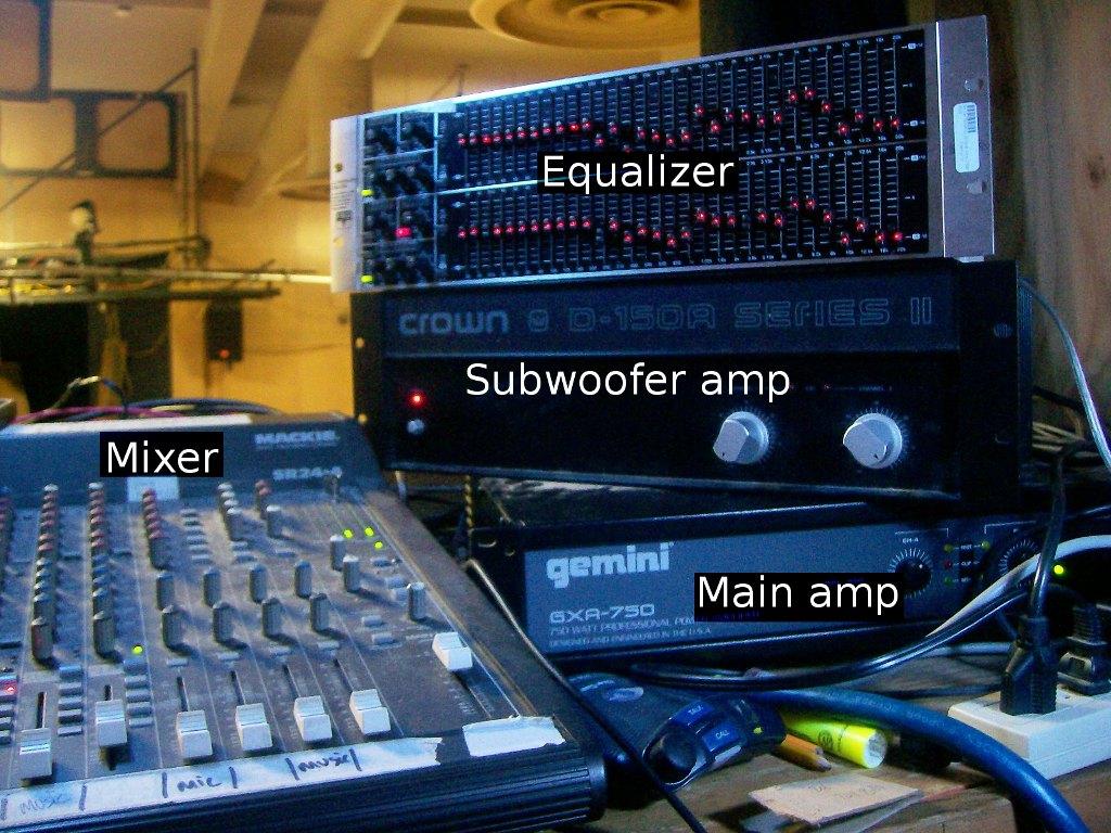 BLT audio equipment