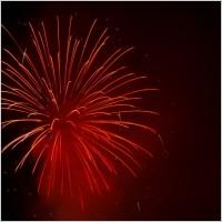 red_fireworks_193090