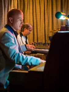 Allan Loucks on keys Dan Seese on percussion
