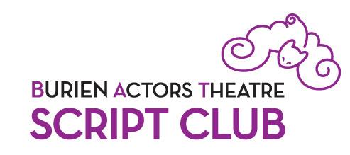 Bat Script Club February Meeting Burien Actors Theatre News